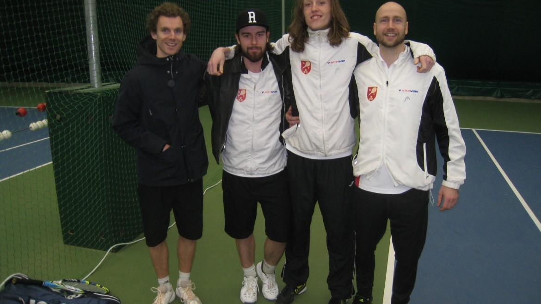 Rødovre Tennis fik 3:3 mod Virum-Sorgenfri