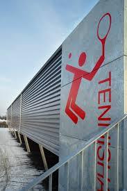 Adgang til tennishallen