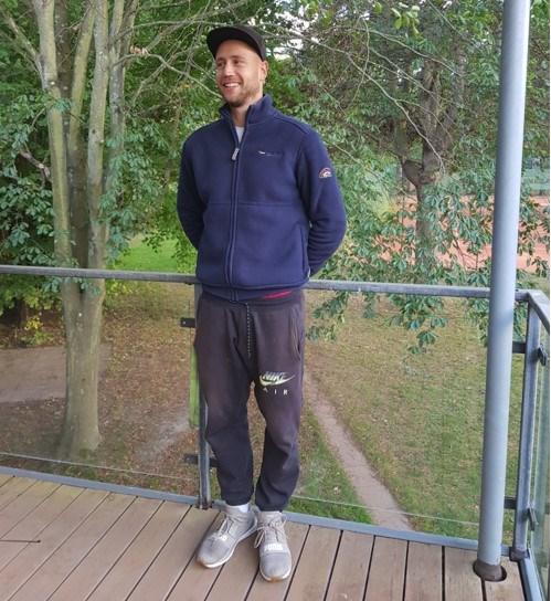 Marcin 10 år i Rødovre Tennisklub