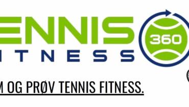 Tennisfitness hver mandag kl. 19