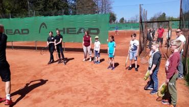 Tennisskole for juniormedlemmer 5. – 8. juli