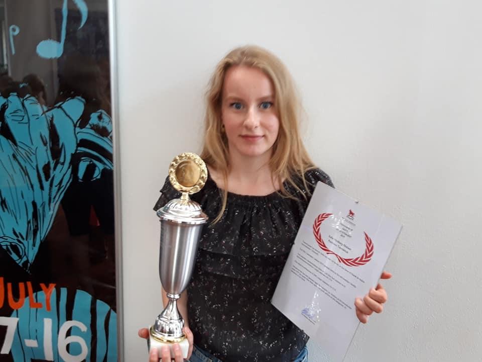 Sofie er årets idrætstalent i Rødovre