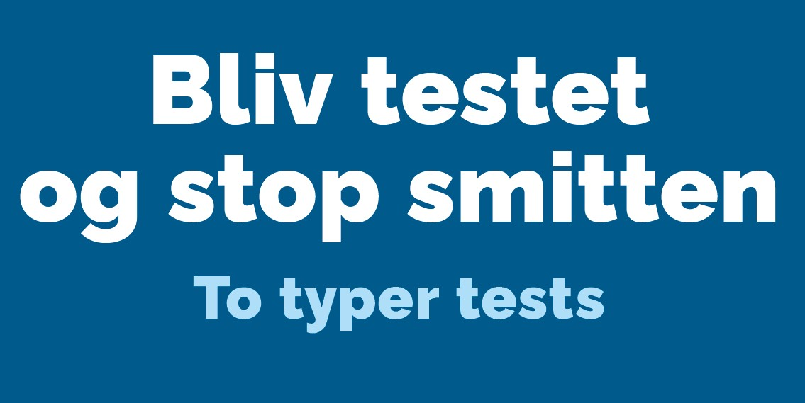 Bliv testet og stop smitten – nu i Rødovre!
