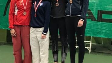 Olivia Thiemke fik sølv ved U18 DM